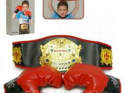 Детский боксёрский набор, перчатки, пояс, BB60
