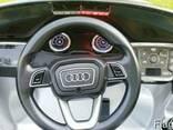 Детский электромобиль AUDI Q7- Полицейский - фото 5