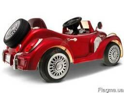 Детский электромобиль Bentley Limousine Красный - фото 2