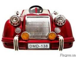 Детский электромобиль Bentley Limousine Красный - фото 4