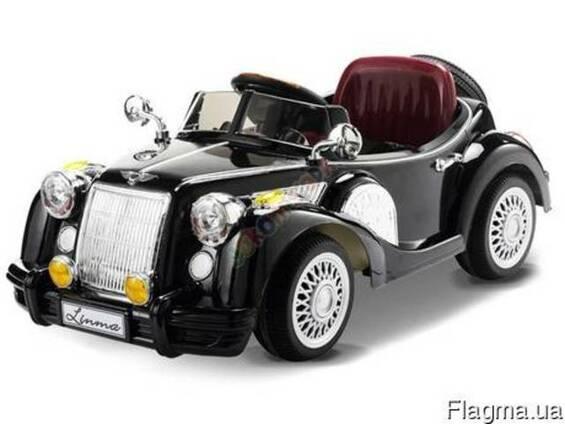 Детский электромобиль Bentley Limousine черный