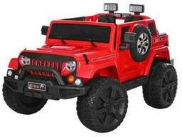 Детский электромобиль JEEP M 3445 EBLR-3- красный