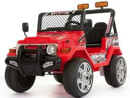 Детский электромобиль Jeep S618B- Красный