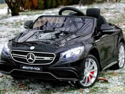 Детский электромобиль M 2797 Mercedes Benz S63 AMG авто покр