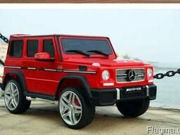 Детский электромобиль Mercedes G65 VIP: 90W, 2.4G, EVA-колес - фото 2