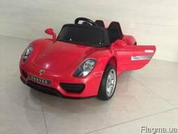 Детский электромобиль Porsche Style M 2765 EBLRS-3 Бордовый