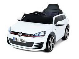 Детский электромобиль volkswagen golf - Белый