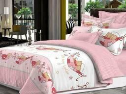 """Детский комплект постельного белья """"вместе веселее"""" розовый"""