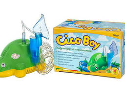 Детский компрессорный ингалятор (небулайзер) Cicoboy P4. ..