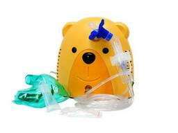 Детский компрессорный ингалятор (небулайзер) Мишка Праймед