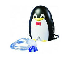 Детский компрессорный ингалятор (небулайзер) Пингвин Праймед