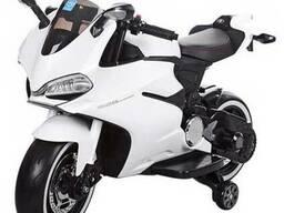 Детский мотоцикл М 3467EL-1– Белый