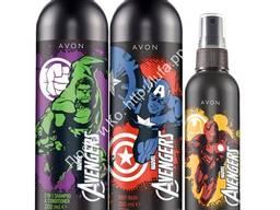 Детский набор для мальчика AVON Marvel Avengers (гель, шампунь, туалетная вода)