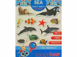 Детский набор магнитов Морские обитатели фото Magdum (ML4031-28 EN)