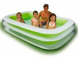 """Детский надувной бассейн 262х175х56см """"Ванна"""" 749л, от 6 лет"""
