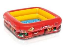 Детский надувной бассейн басейн Intex 57101 Тачки