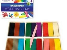 Детский пластилин Луч 18цветов
