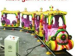 Детский поезд рельсовый Трековый Аттракцион