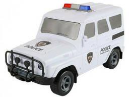 """Детский Сейф-копилка """"Машинка"""" METR+ с кодовым замком (Полиция (Белый)) (JH1989-B(White))"""