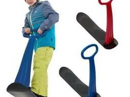 Детский снегокат со складным рулем Snowbee