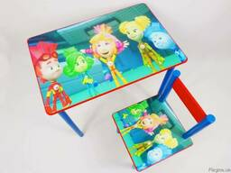 """Детский столик и стульчик """"Фиксики"""" от 1 до 6 лет"""