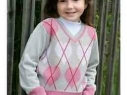Детский трикотаж, детские жилетки, детские безрукавки от 95
