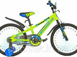 """Детский велосипед Crossride Jersey 20"""" 10"""" 2020 Салатовый (04553)"""