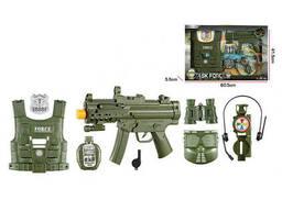 Детский военный набор оружия F8528 с маской (F8528-6A)