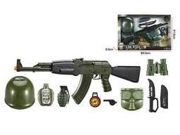 Детский военный набор оружия F8528 с маской (F8528-7A)