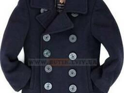 Детское пальто бушлат ВМФ США Boys USN Pea Coat Alpha Indust