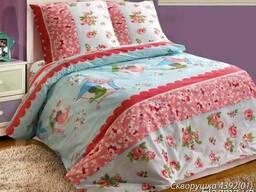 Детское постельное белье недорого, Комплект Скворушка