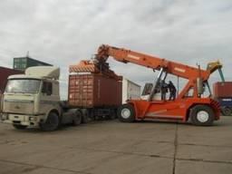Действующее предприятие по перегрузке различных экспортно-импортных грузов