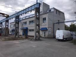 Действующий производственный комплекс в Житомире с жд веткой