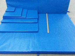 Дезинфицирующий коврик Автобарьер, 100*100 см, 9 см