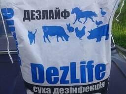 Дезлайф, препарат для сухої дезінфекції