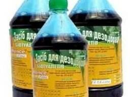 Дезодорирующая жидкость для биотуалетов