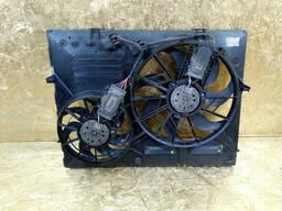 Диффузор вентилятор Porsche Cayenne 2003-2006 Порш Кайен
