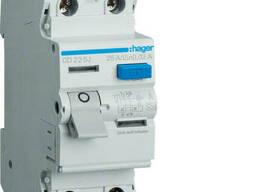 Устройство защитного отключения УЗО Hager CD240J 2x40 A, 30 mA, A, 2м