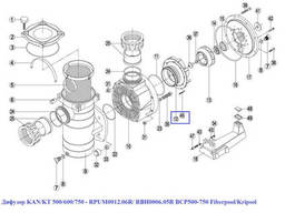 Диффузор KAN/KT 500/600/750 - RPUM0012.06R/ RBH0006.05R. ..