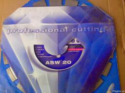 Диск алмазный Lissmac ASW-20, 300, 25. 4 асфальт