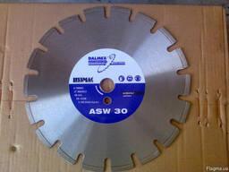 Диск алмазный Lissmac ASW-30, 300, 25. 4 асфальт