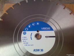 Диск алмазный Lissmac ASW-30, 600, 25, 4 асфальт