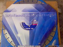 Диск алмазный Lissmac BSW-10, 450/25. 4 бетон, абразивы