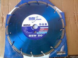 Диск алмазный Lissmac BSW-20, 300/25. 4 бетон, абразивы