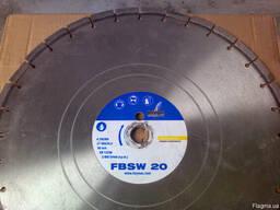 Диск алмазный Lissmac FBSW-20, 450/25. 4 свежий бетон
