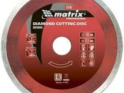 Диск алмазный отрезной цельный 180х22. 2мм Matrix Premium мокрая резка