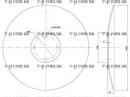 Диск Amazone 460 мм , s-5мм. 110 гладкий,сплошной