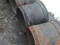 Диск колеса 1ПТС-9, 1ПТС-12, БДВП-4, 2 под шину 16.5/70-18