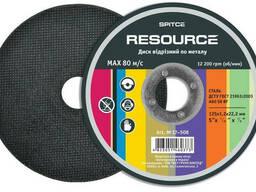 Диск отрезной по металлу Resource 115х1, 6х22 мм