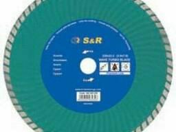 Диск отрезной S&R Turbo по граниту Premium 125